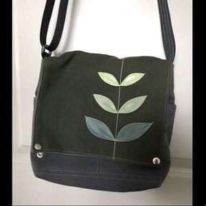 Handbags - Queen Bee Canvas purse Made in Portland!